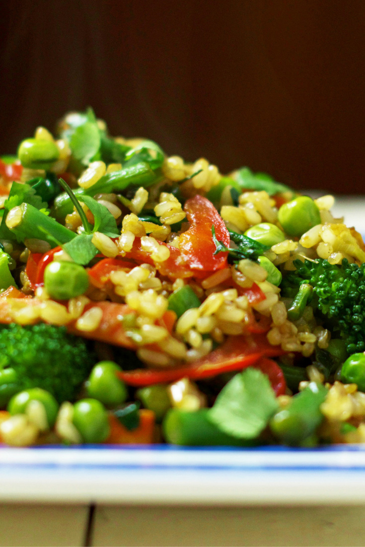 Healthy Vegan Fried Rice Oliviabudgen Blog