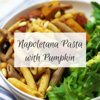 Napoletana Pasta with Pumpkin