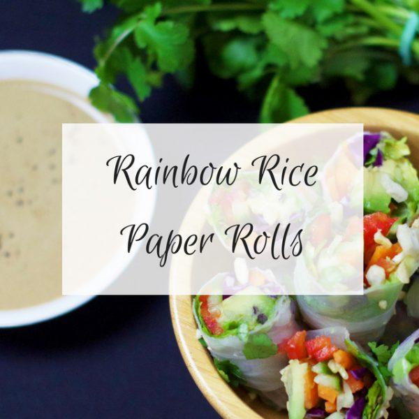 Rice Paper Rolls Oliviabudgen Blog