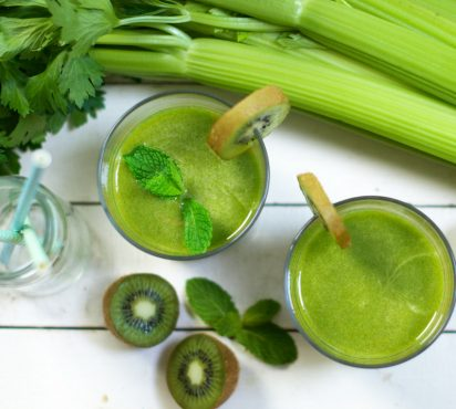 Antioxidant Rich Kiwi Juice
