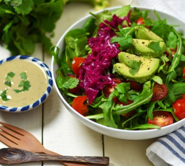 Nourishing Spring Green Salad