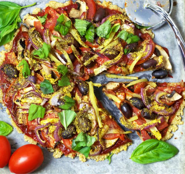 Easy Brown Rice Pizza Base Oliviabudgen Blog