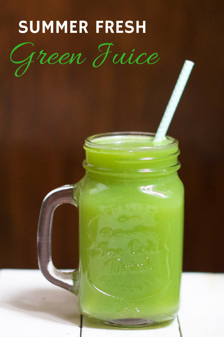 Summer Fresh Green Juice Oliviabudgen Blog
