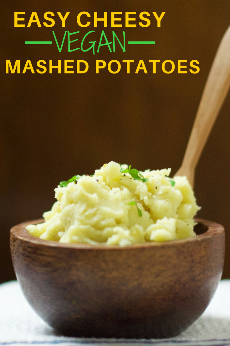 Easy Cheesy Mashed Potatoes | Olivia Budgen