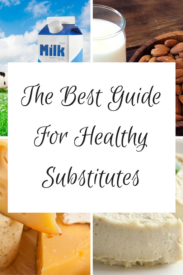Healthy Vegan Substitutes Oliviabudgen Blog