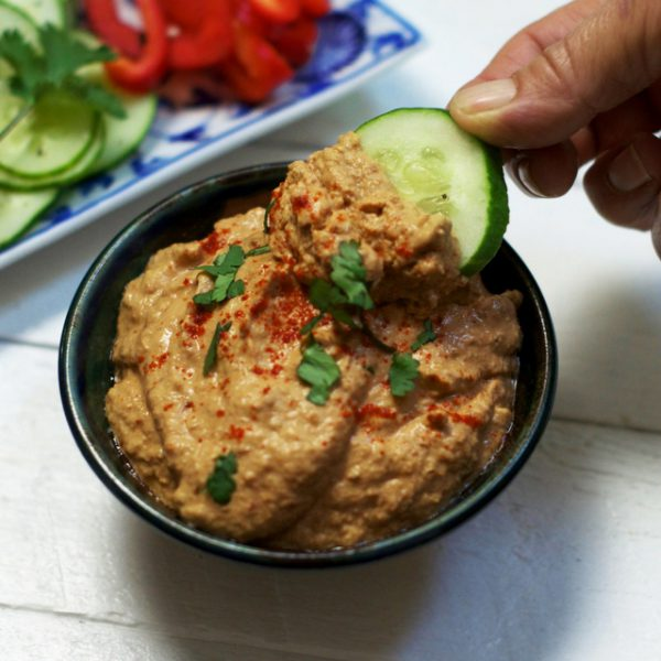Sun Dried Tomato Hummus Olivia Budgen Blog
