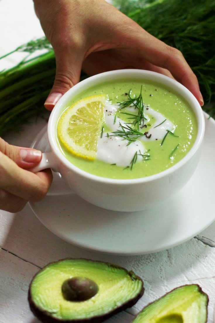 Detoxifying Green Soup Olivia Budgen Blog