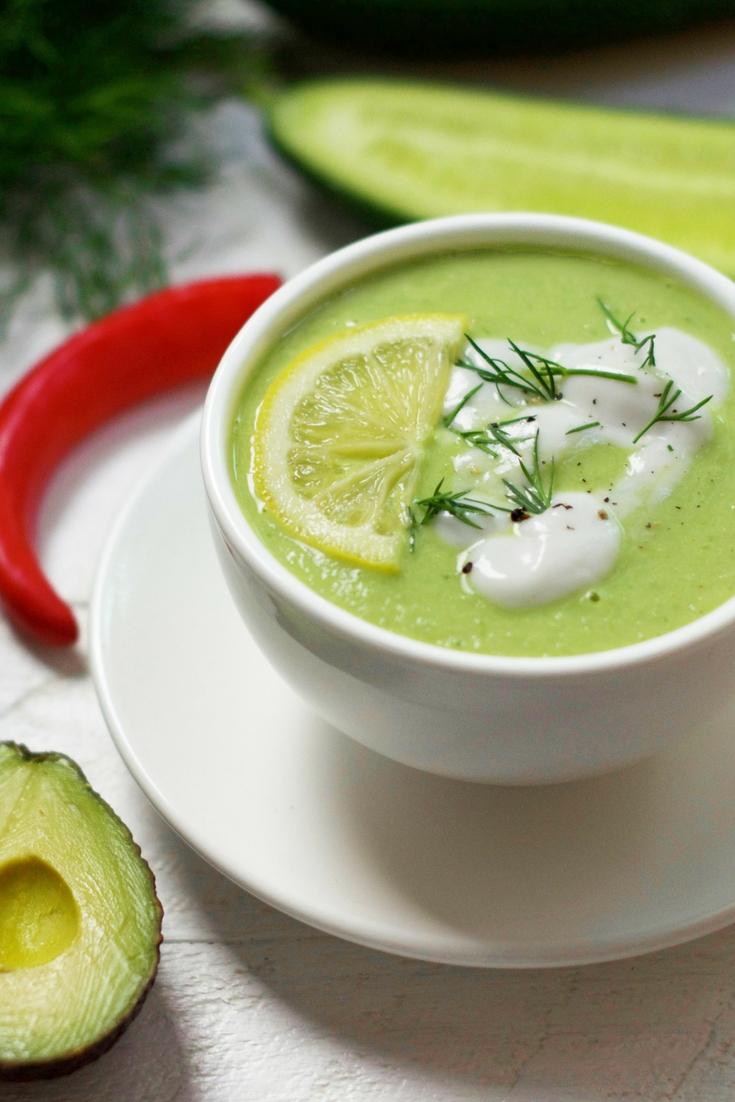 Detoxifying Green Soup Olivia Budgen Blog