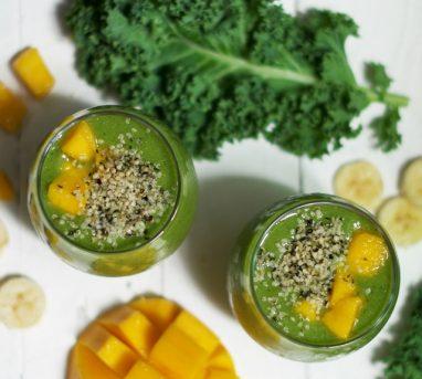 Protein Rich Green Smoothie