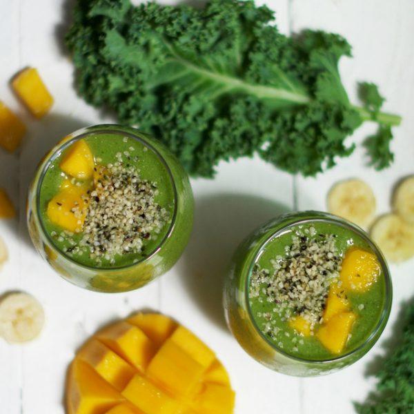 Protein Rich Green Smoothie Olivia Budgen Blog
