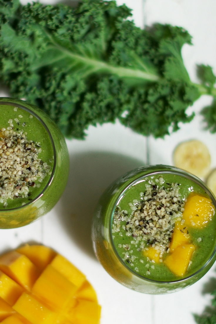 Protein Rich Green Smoothie Olivia Budgen Blog