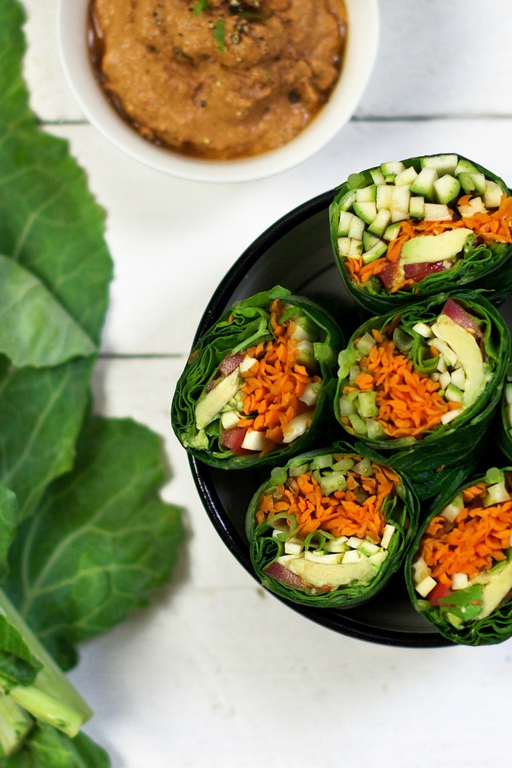 Raw Vegan Wraps Olivia Budgen Blog