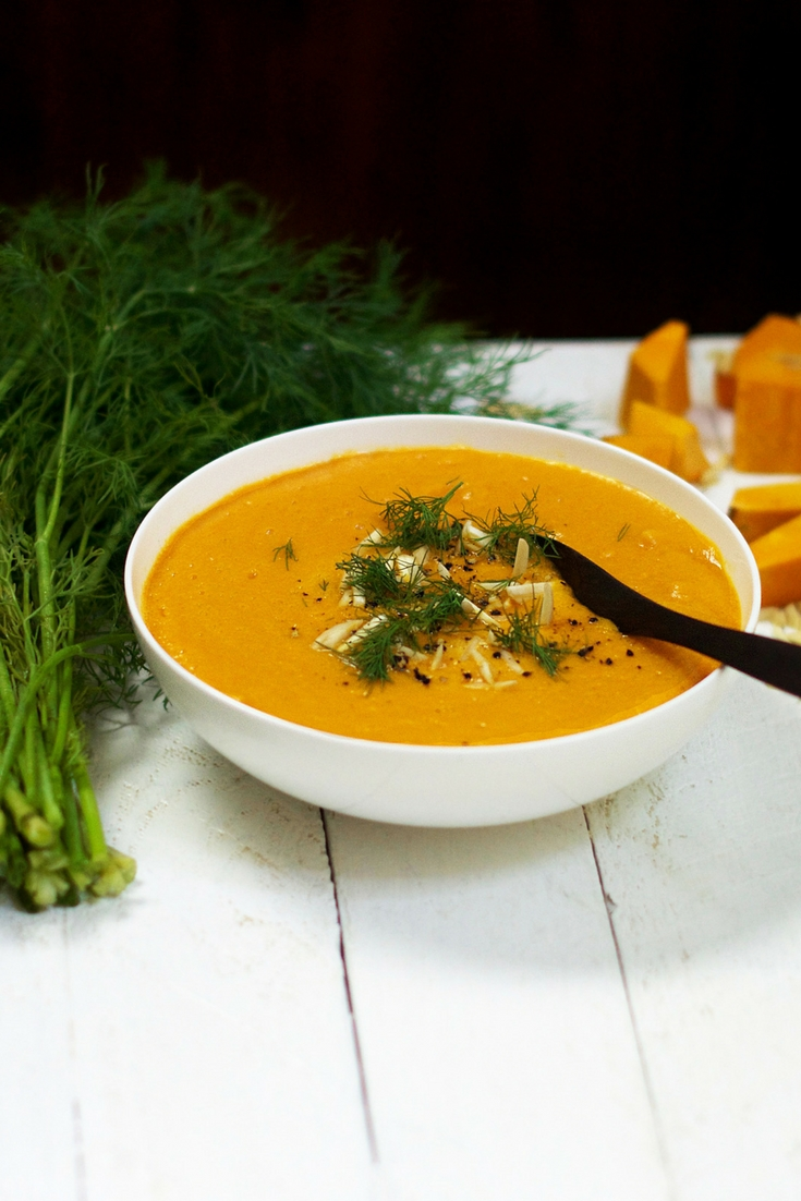 Creamy Curried Pumpkin Soup Olivia Budgen Blog