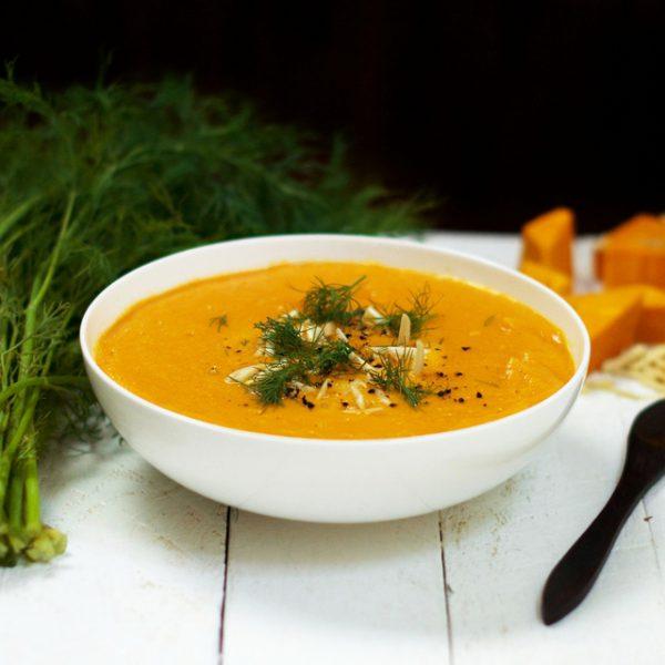 Creamy Curried Pumpkin Soup Olivia Budgen Blog