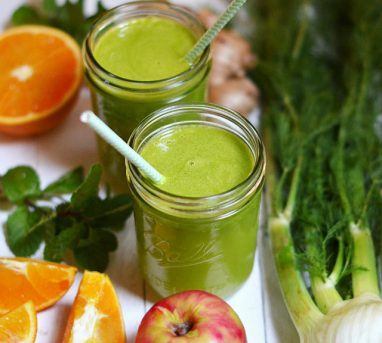 Liver-Protecting Fennel Juice