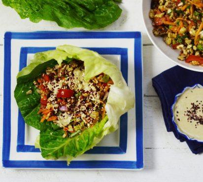 Healthy Veggie San Choy Bow